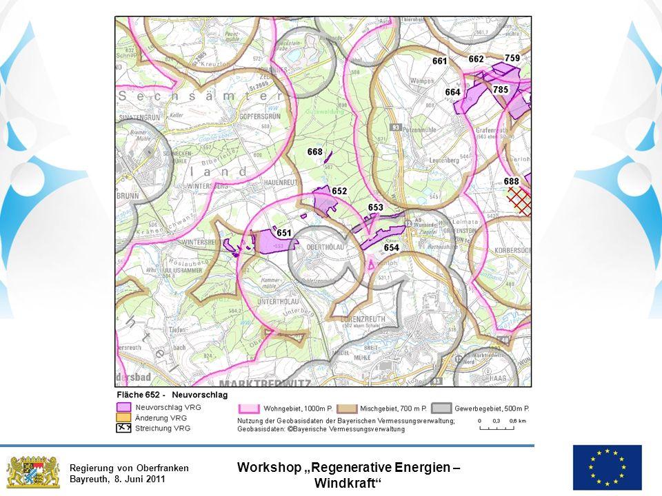 """Regierung von Oberfranken Bayreuth, 8. Juni 2011 Workshop """"Regenerative Energien – Windkraft"""""""