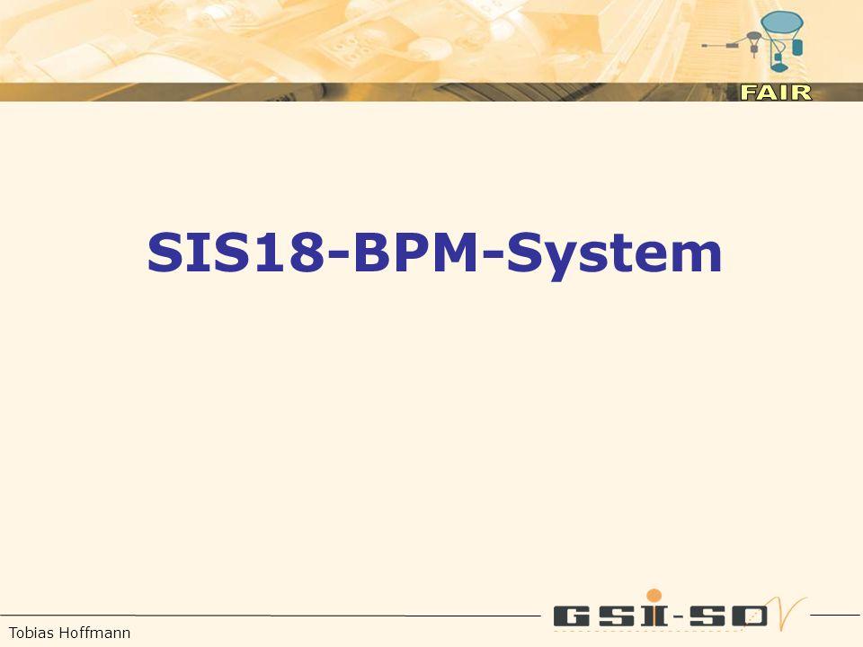 Tobias Hoffmann SIS18-BPM-System