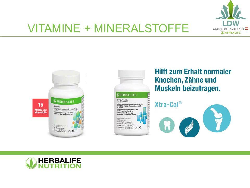 VITAMINE + MINERALSTOFFE