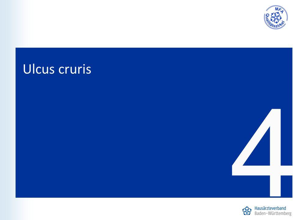 4 Ulcus cruris