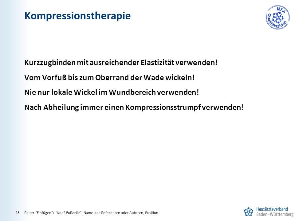 Kompressionstherapie Reiter