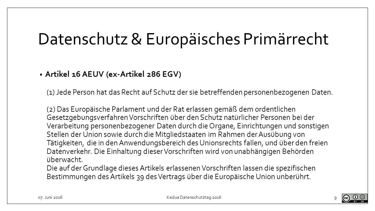 Grundlagen Europäisches Sekundärrecht eigene Rechtssetzungsbefugnis der Organe der Europäischen Union gesetztes Recht gilt in allen Mitgliedstaaten Art.