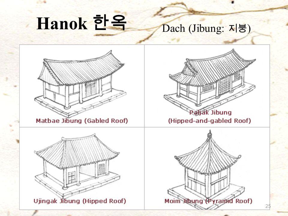 Hanok 한옥 Dach (Jibung: 지붕 ) 25