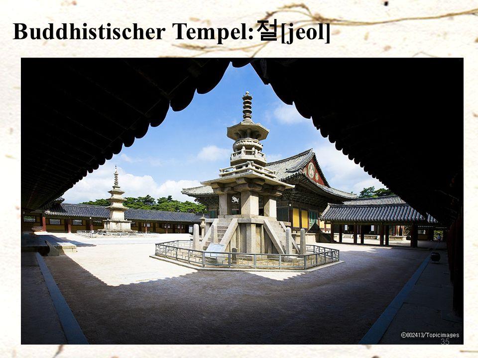Buddhistischer Tempel: 절 [jeol] 35
