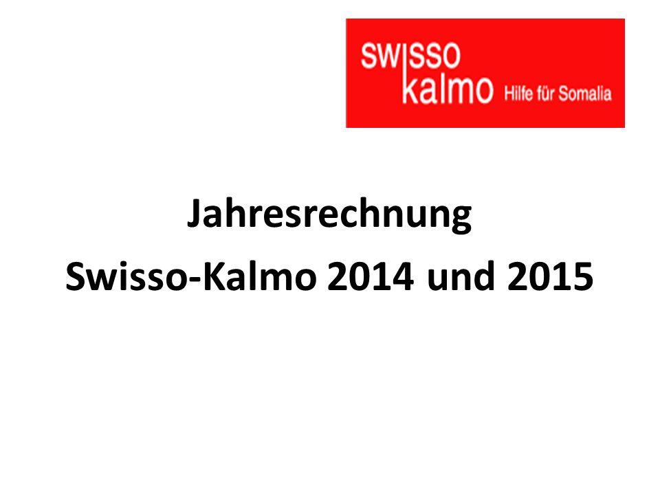 Jahresrechnung Swisso-Kalmo 2014 und 2015