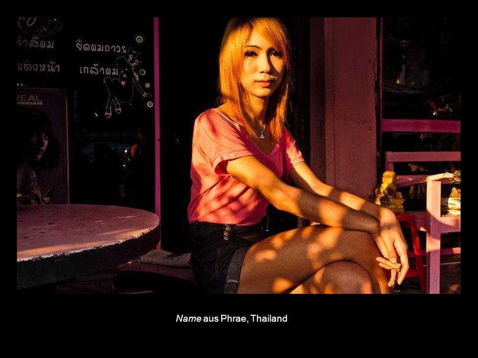 Name aus Phrae, Thailand