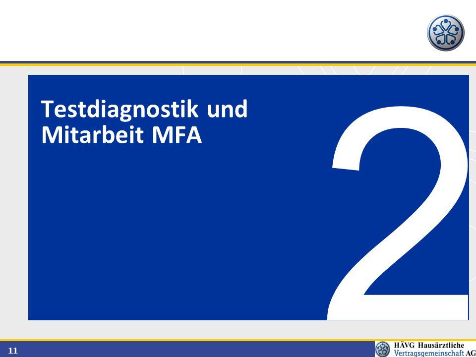11 2 Testdiagnostik und Mitarbeit MFA