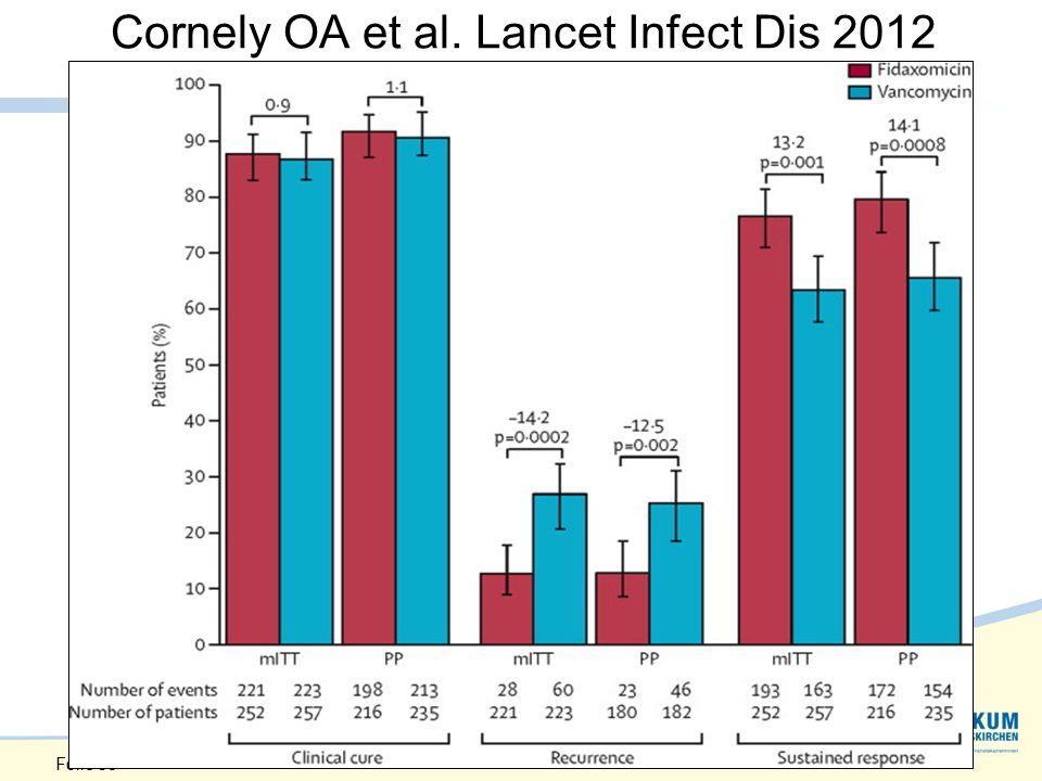 Cornely OA et al. Lancet Infect Dis 2012 Folie 38