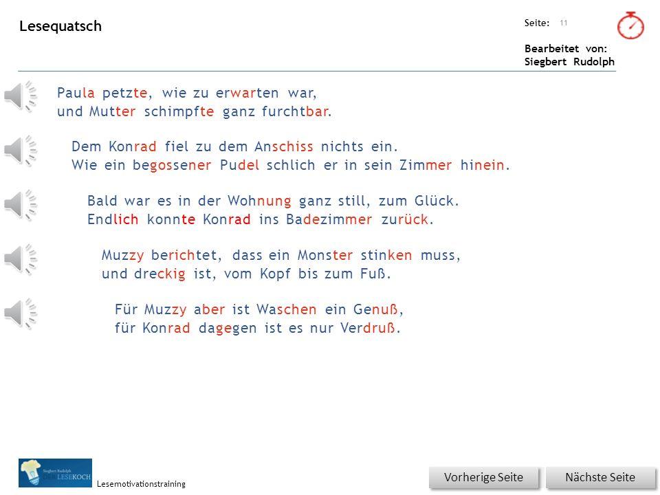 Übungsart: Seite: Bearbeitet von: Siegbert Rudolph Lesemotivationstraining 10 Wortschatz – Was passt zusammen? Bitte auf die Lösung klicken! Nächste S