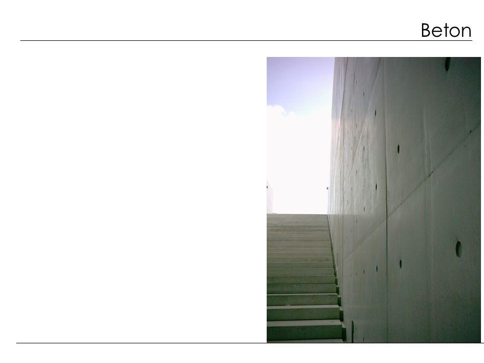 Beton Betoneigenschaften sind abhängig von der...