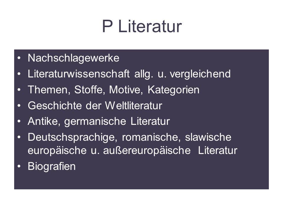 mmSB BG u. BRG Stainach24 P Literatur Nachschlagewerke Literaturwissenschaft allg.