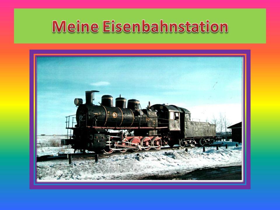 Лексический материал die Eisenbahn, die Eisenbahnstation, der Zug, die Fahrkarte, das Auskunftsbüro, der Bahnsteig, einsteigen, aussteigen, Abschied nehmen von,