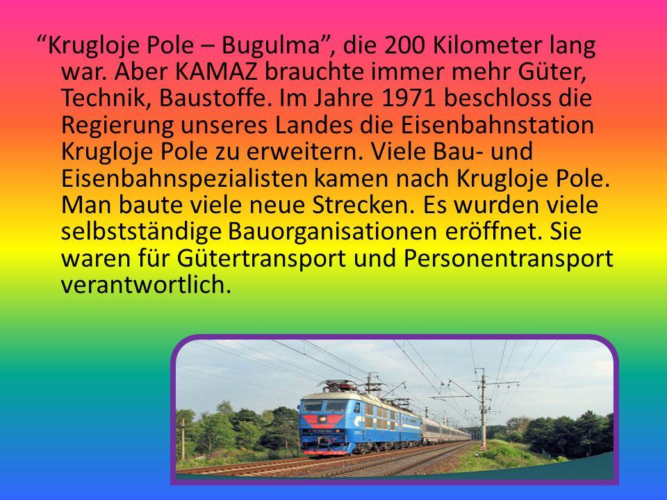Man baute auch viele Häuser für Eisenbahner und ihre Familien.