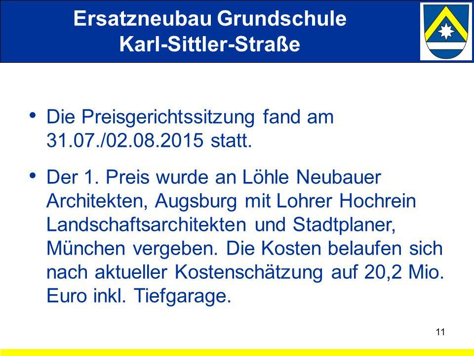 Die Preisgerichtssitzung fand am 31.07./02.08.2015 statt.