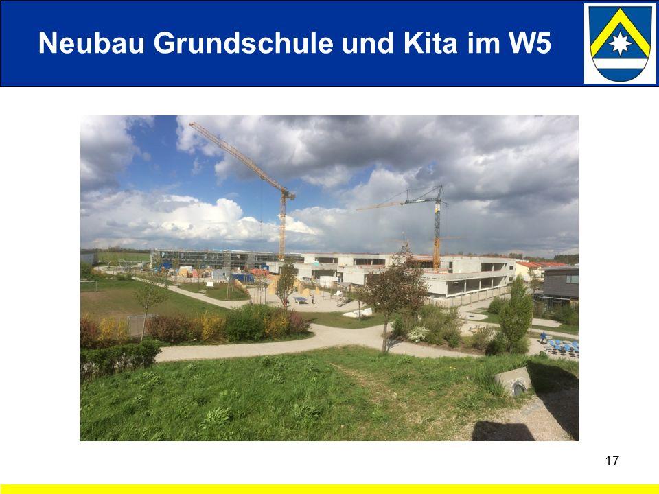 17 Neubau Grundschule und Kita im W5