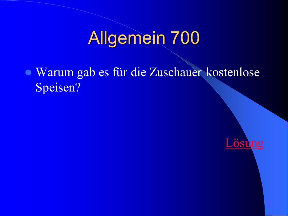 Kampfarena 700 Wie wurde der Arenaboden abgedeckt? Lösung