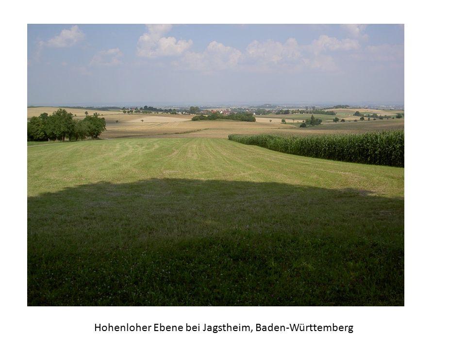 Hohenloher Ebene bei Jagstheim, Baden-Württemberg
