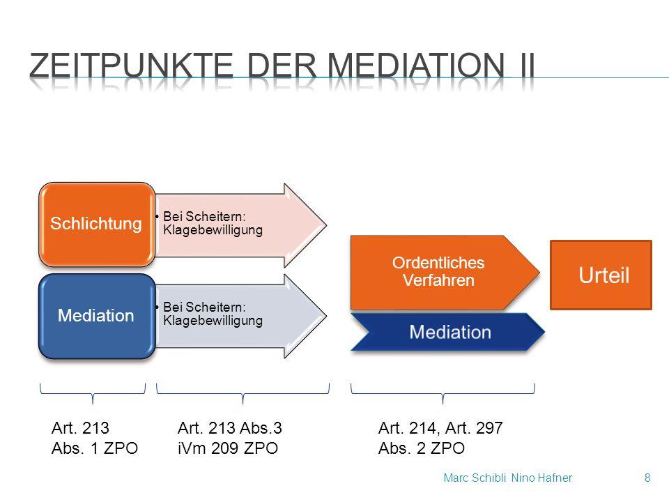 Mediation Bei Scheitern: Klagebewilligung Schlichtung Bei Scheitern: Klagebewilligung Mediation Ordentliches Verfahren Urteil Art.