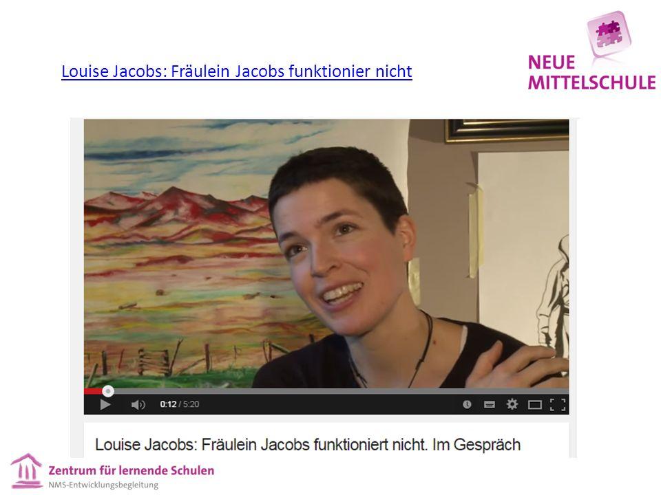 Louise Jacobs: Fräulein Jacobs funktionier nicht
