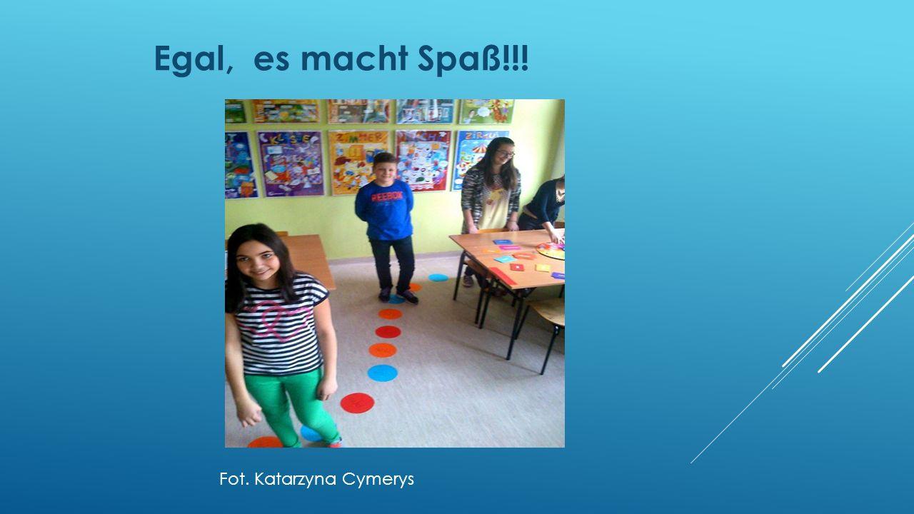 Ist das ein Brettspiel oder Fußbodenspiel Fot. Katarzyna Cymerys