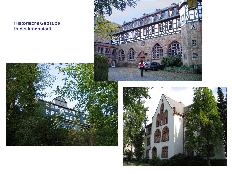 Historische Gebäude in der Innenstadt