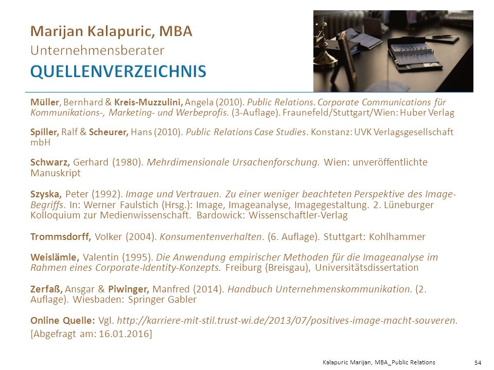 Müller, Bernhard & Kreis-Muzzulini, Angela (2010).
