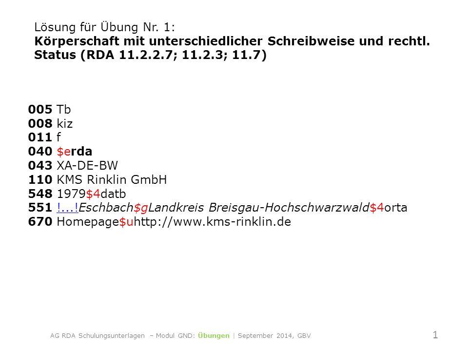 005 Tb 008 kiz 011 f 040 $erda 043 XA-DE-BW 110 KMS Rinklin GmbH 548 1979$4datb 551 !...!Eschbach$gLandkreis Breisgau-Hochschwarzwald$4orta 670 Homepage$uhttp://www.kms-rinklin.de!....