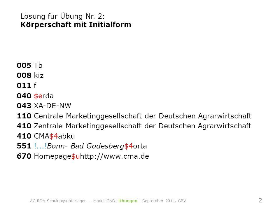 005 Tb 008 kiz 011 f 040 $erda 043 XA-DE-NI 110 Bauförderung Landwirtschaft e.V.