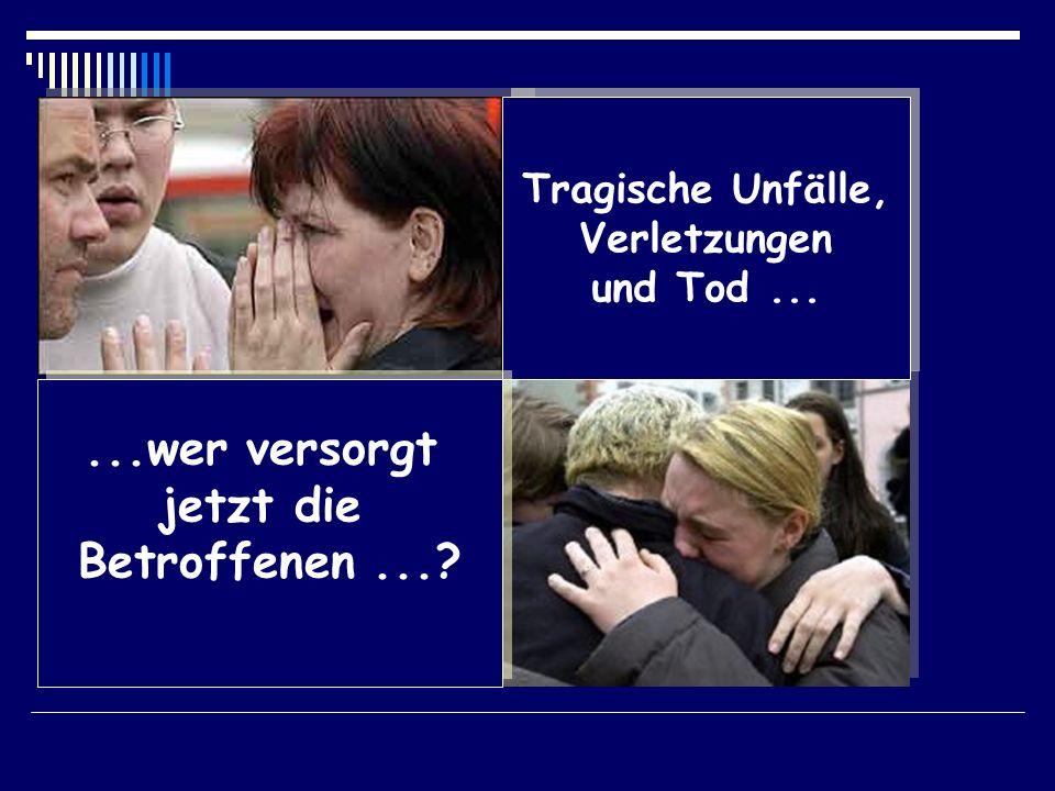 Tragische Unfälle, Verletzungen und Tod... Tragische Unfälle, Verletzungen und Tod......wer versorgt jetzt die Betroffenen...?...wer versorgt jetzt di