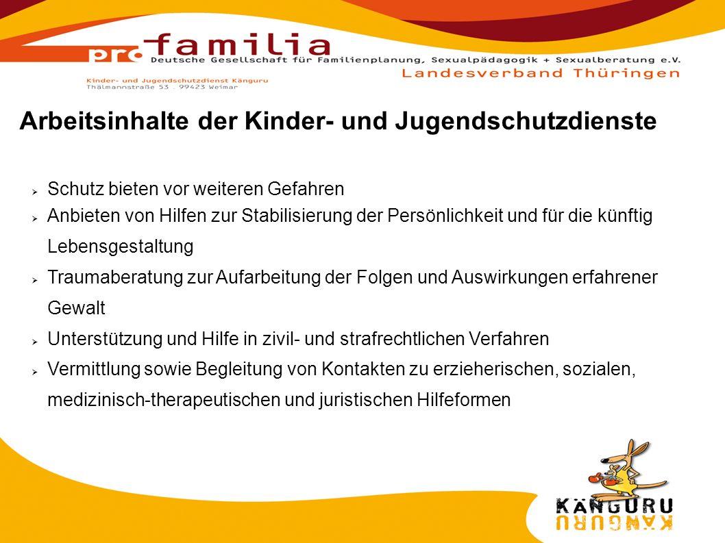 Erstinformationen/ Zugangswege im Fall 1.Jugendamt 2.