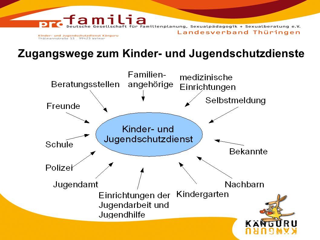 1.Klärung des Schutzes 2. Anamnese / Situationsklärung 3.
