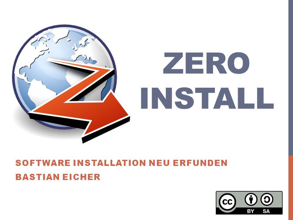 Desktop OS Zero Install - Bastian Eicher 2