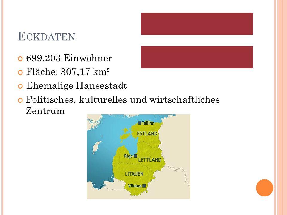 E CKDATEN 699.203 Einwohner Fläche: 307,17 km² Ehemalige Hansestadt Politisches, kulturelles und wirtschaftliches Zentrum