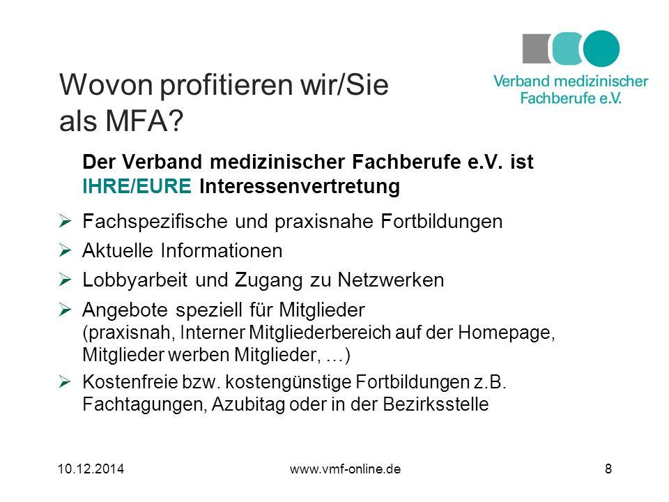 Der Verband medizinischer Fachberufe e.V.