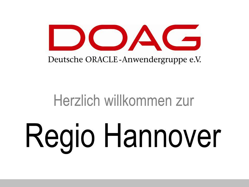 Herzlich willkommen zur Regio Hannover