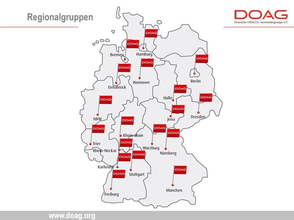 www.doag.org Regionalgruppen