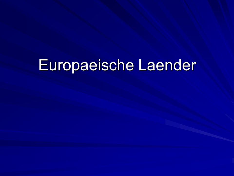 Europaeische Laender