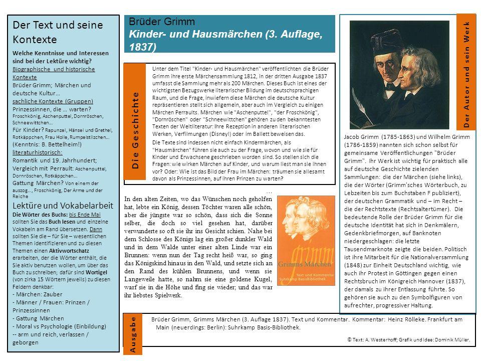 Brüder Grimm Kinder- und Hausmärchen (3.