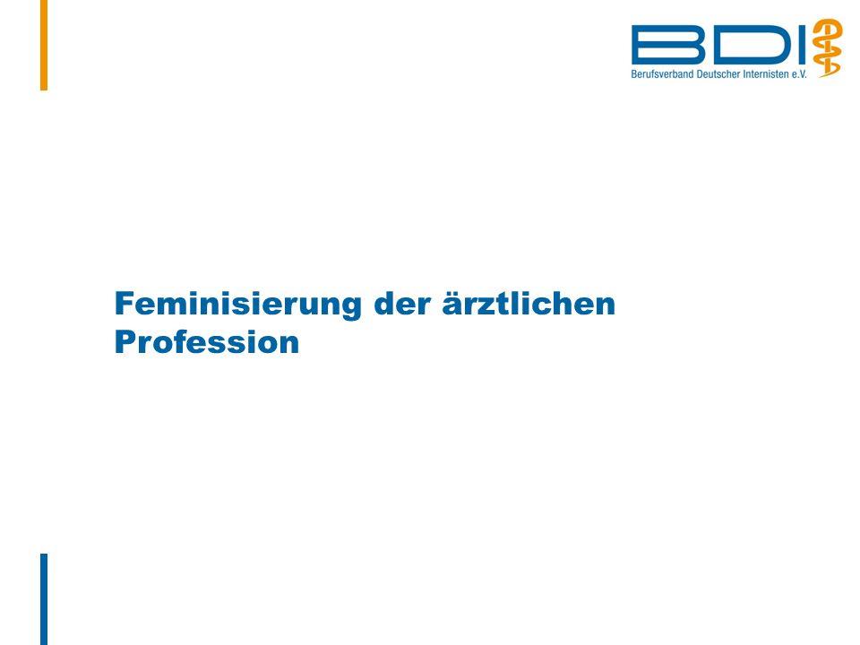 Feminisierung der ärztlichen Profession