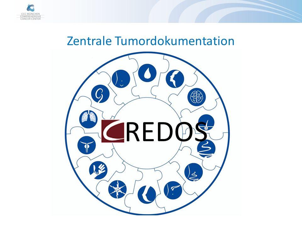 Zentrale Tumordokumentation REDOS ~10.000 Patienten (Stand Anfang 2016) ~65 Tabellen ~mehrere hundert Felder pro Feld teilweise hunderte Ausprägungen direkte Integration in das Klinikumsinformationssystem (i.s.h.-med)