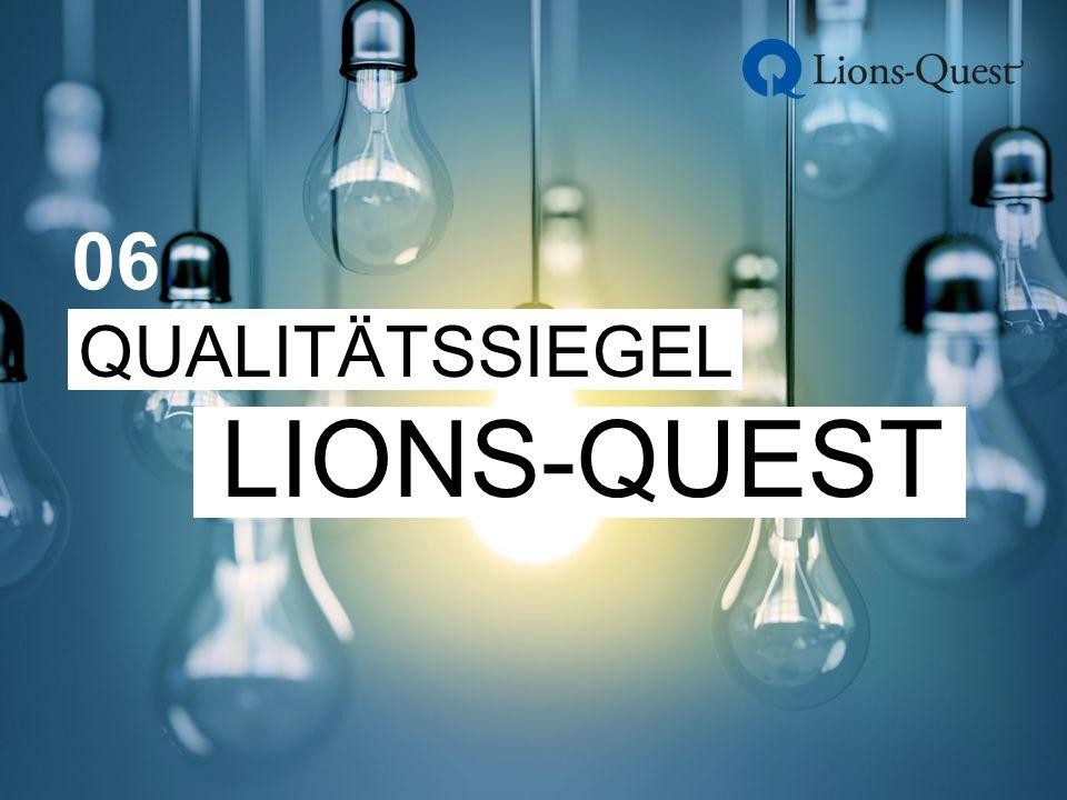 QUALITÄTSSIEGEL LIONS-QUEST 06