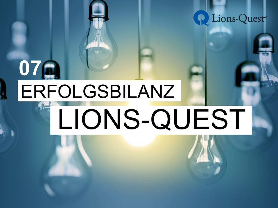 ERFOLGSBILANZ LIONS-QUEST 07