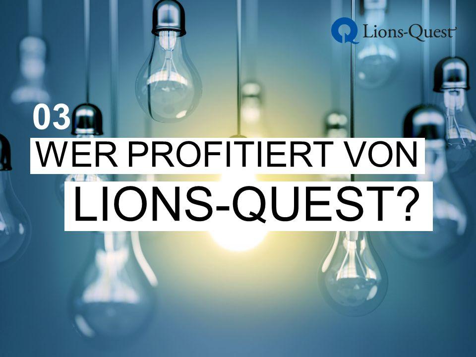 WER PROFITIERT VON LIONS-QUEST 03