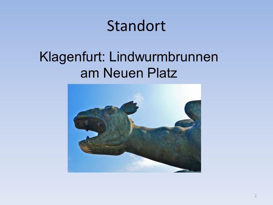 Der Lindwurm in Klagenfurt Als der Kärntner Herzog von der Karnburg aus das Land regierte, breitete sich dort, wo heute Klagenfurt liegt, ein großes Moor aus.