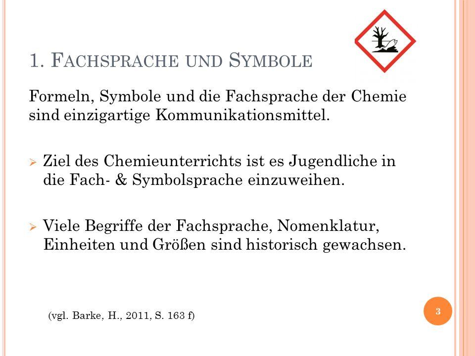 4.H ERKUNFT DER E LEMENTNAMEN 14 (vgl. Schönemann, H., 2011, S.