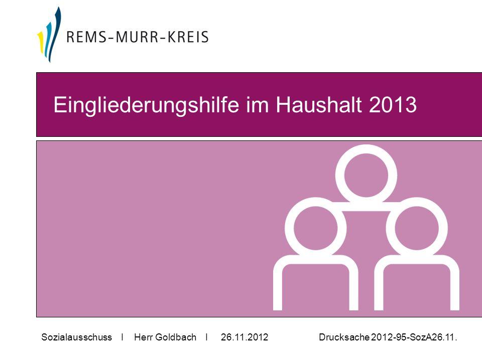Sozialausschuss I Herr Goldbach I 26.11.2012 Drucksache 2012-95-SozA26.11.