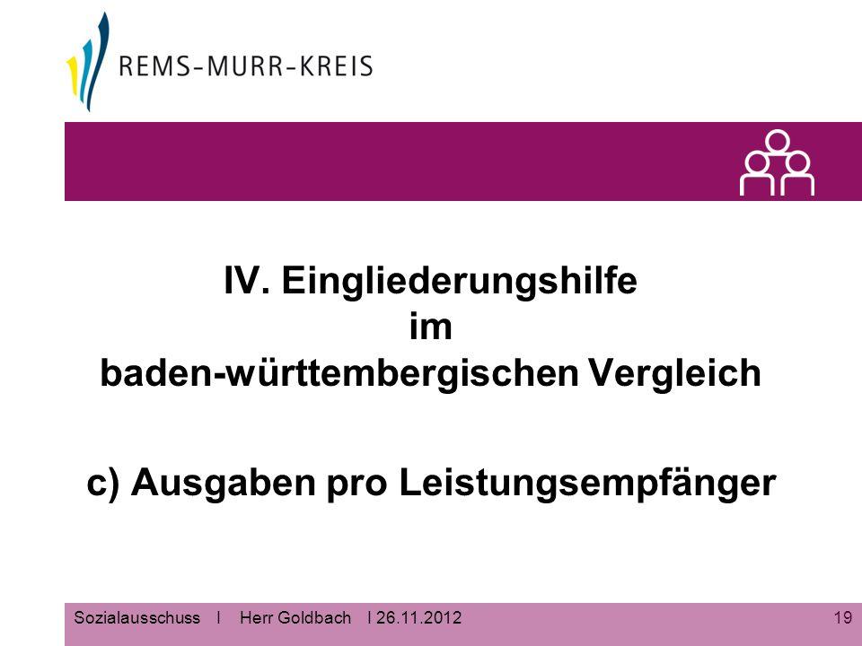 19Sozialausschuss I Herr Goldbach I 26.11.2012 IV.