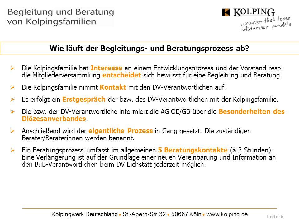 Kolpingwerk Deutschland ● St.-Apern-Str.