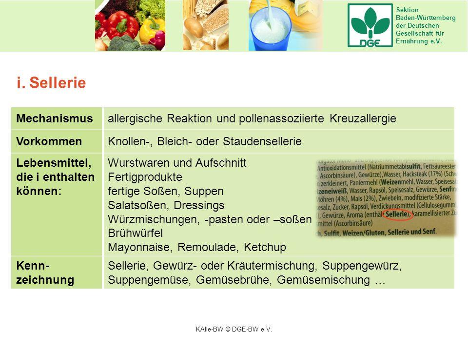 Sektion Baden-Württemberg der Deutschen Gesellschaft für Ernährung e.V. Mechanismusallergische Reaktion und pollenassoziierte Kreuzallergie VorkommenK