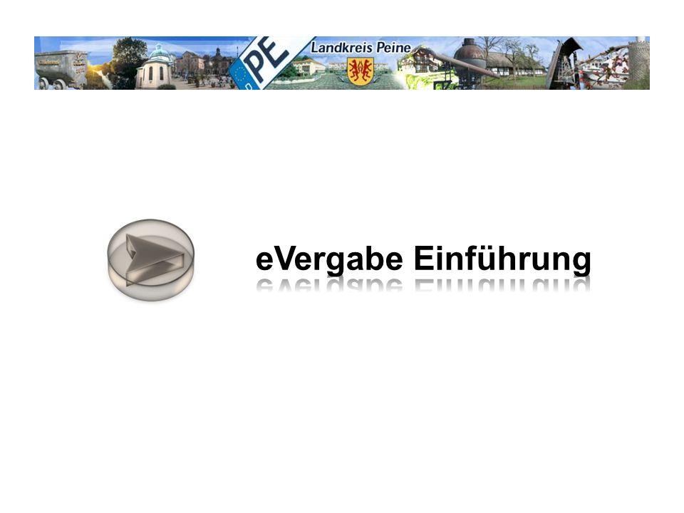eVergabe Einführung Vorteile Bieter >Upload der ausgefüllten Leistungsverzeichnisse.